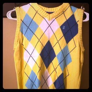 Boys IZOD sweater vest